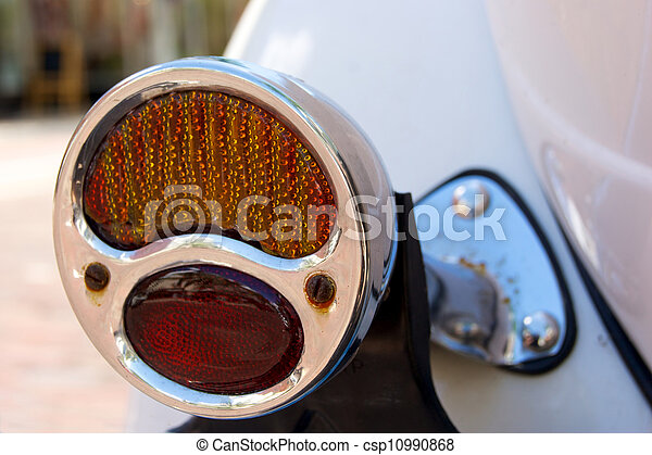 old automobile tail light - csp10990868