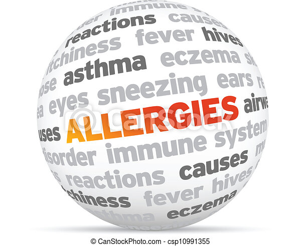 Image result for allergies clipart