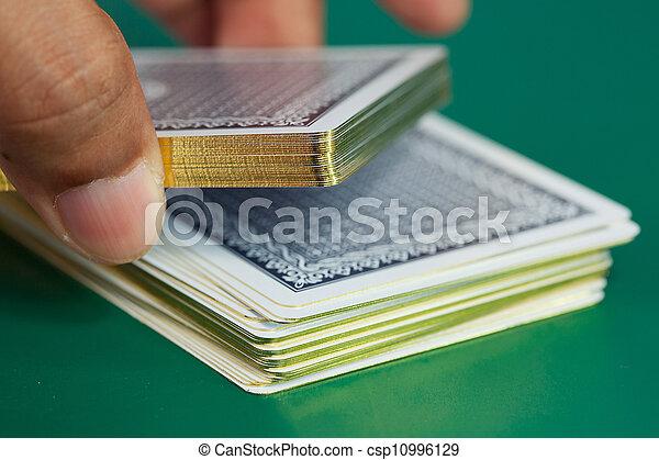 Gambling scenes - csp10996129