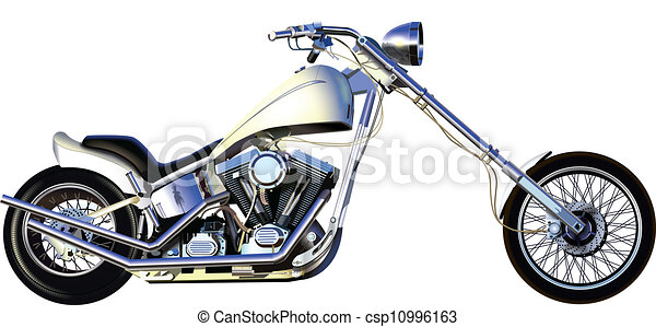 Chopper Motorbike Drawing Chopper Csp10996163