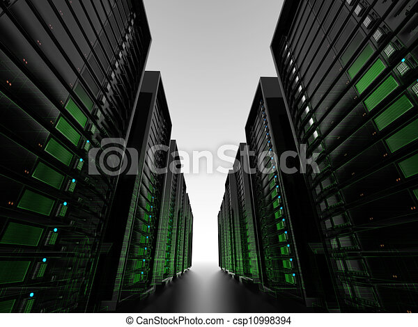 Data center server clusters - csp10998394