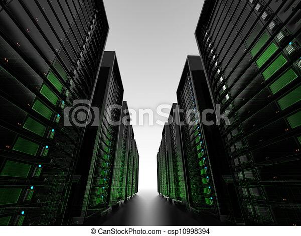 Data center server clusters  - csp10998394