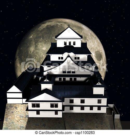 Himeji Castle - csp1100283