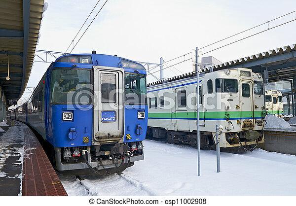 Hakodate City, Japan, December, 22th, 2009: Hakodate Station Ho