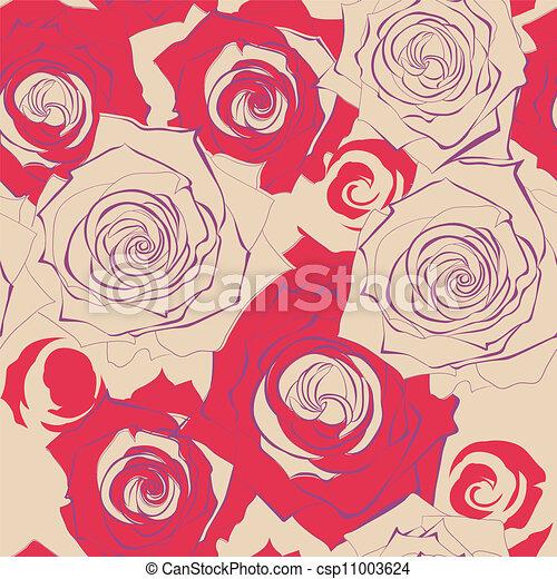 illustration vecteur de seamless papier peint rose fleurs csp11003624 recherchez des images. Black Bedroom Furniture Sets. Home Design Ideas