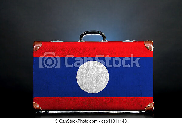 The Laotian flag - csp11011140