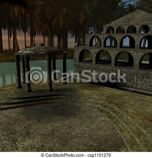 Fantasy Building - csp1101279