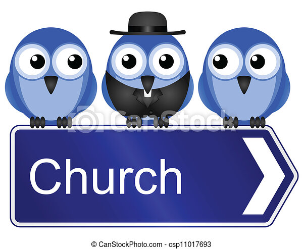 church sign - csp11017693