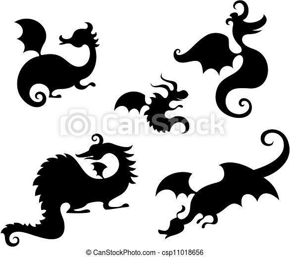龙的摆放方法图解