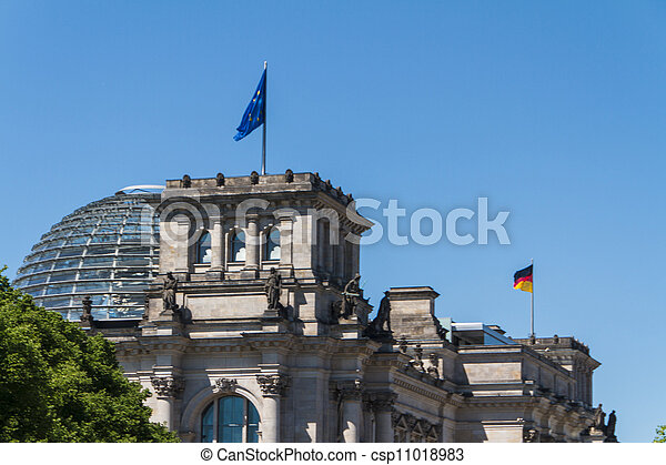 Berlin Government District - csp11018983