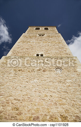 belmonte church tower fro - csp1101928