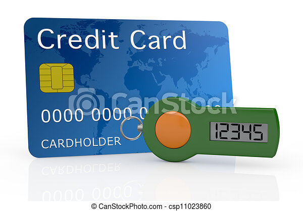 concept of online banking service - csp11023860