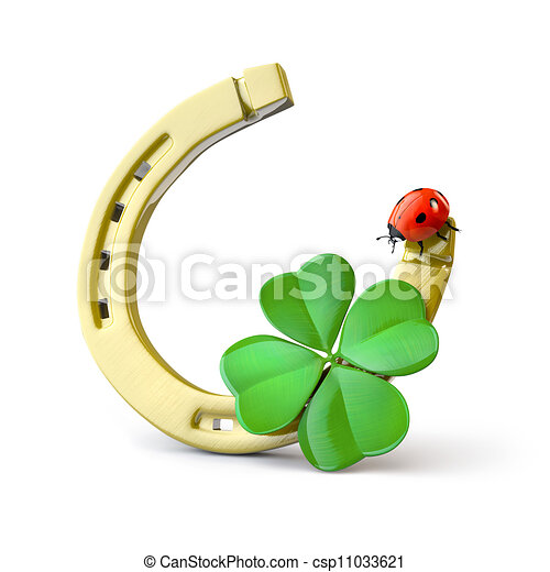 Lucky symbols - csp11033621