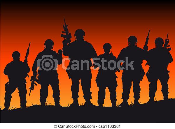 Soldiers - csp1103381