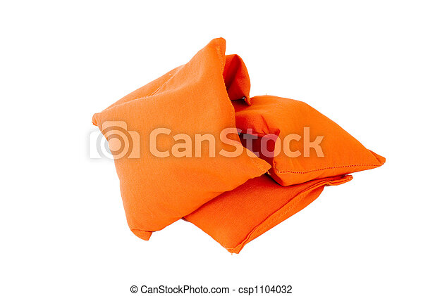 Orange Sandbags - csp1104032