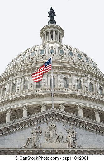 United States Capitol Dome - csp11042061