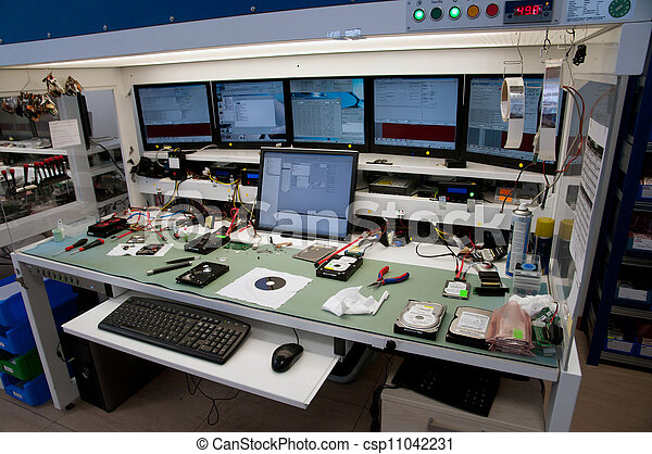 Laboratory for recovering data - csp11042231