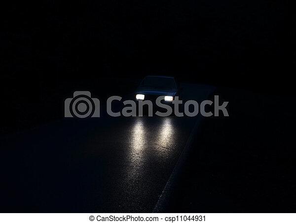 Car lights - csp11044931