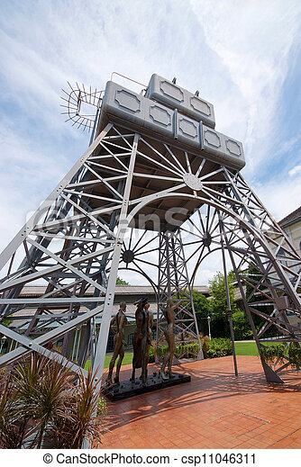 Water Tower - csp11046311