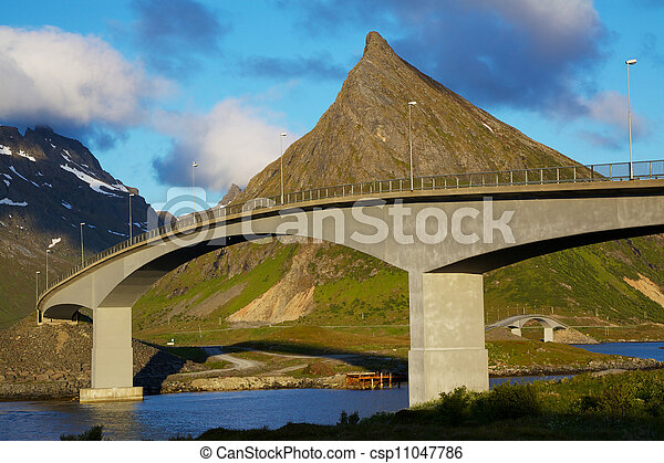Bridges on Lofoten - csp11047786