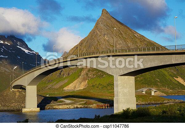 Bridges on Lofoten - csp11047786