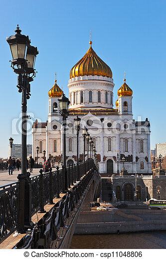 Church of Christ the Savior in Moscow - csp11048806