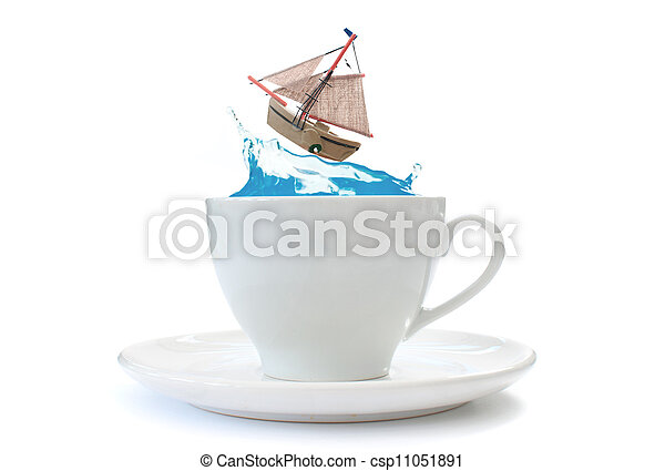 Storm in a teacup - csp11051891
