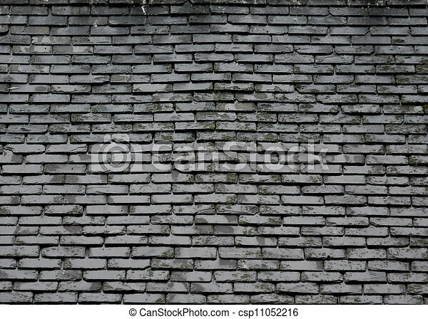 Stock Photography Of Grey Slate Roof Tile Texture
