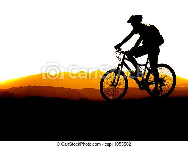 Mountain Biking - csp11053502