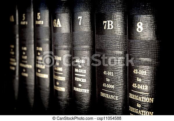 Law Books - csp11054588