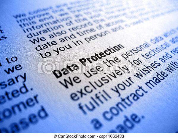 data protection - csp11062433
