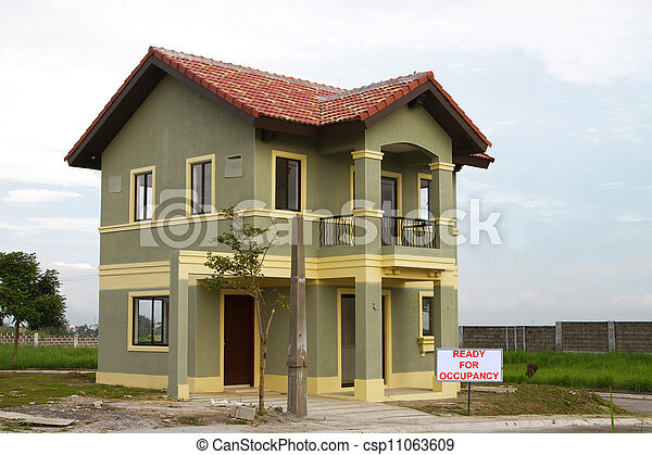 Residential home - csp11063609