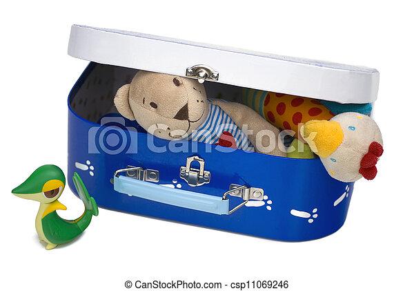 Toy box closed - csp11069246
