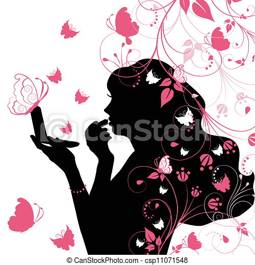 Beauty woman - csp11071548