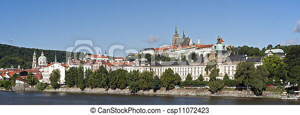 Prague - Hradcany and Government of the Czech Republic - csp11072423