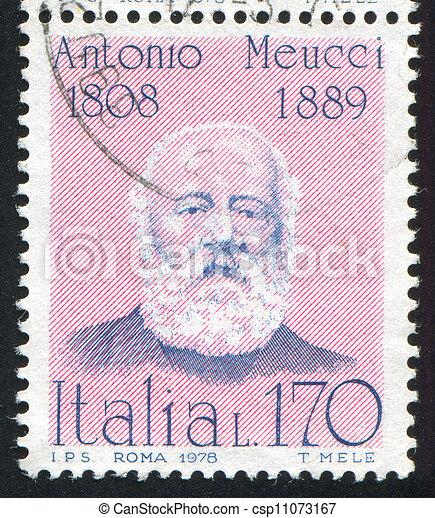 Antonio, Meucci - csp11073167