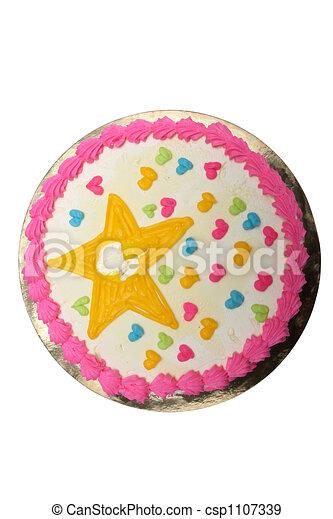 birthday cake - csp1107339
