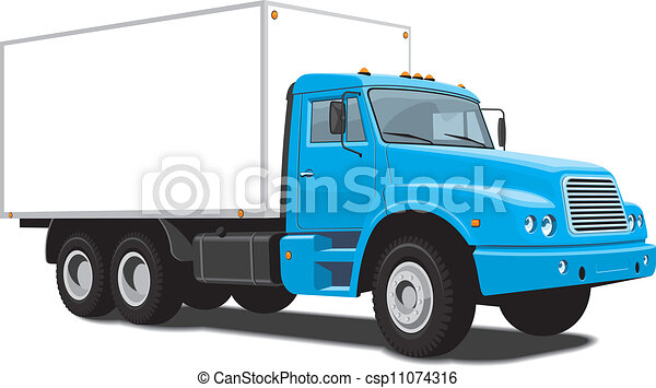 Delivery Truck Drawings
