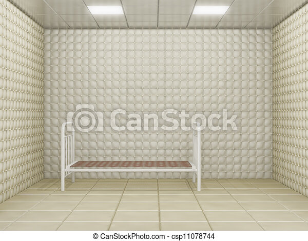 Padded Room Drawing Padded Room Csp11078744