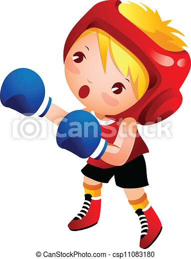 Girls Boxing Clip Art