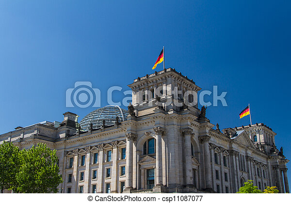Berlin Government District - csp11087077