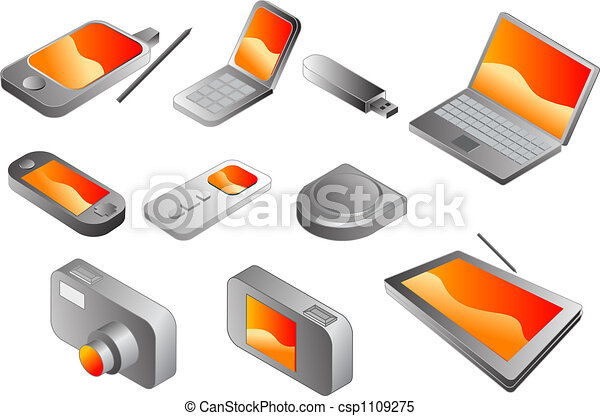 Electronic gadgets - csp1109275