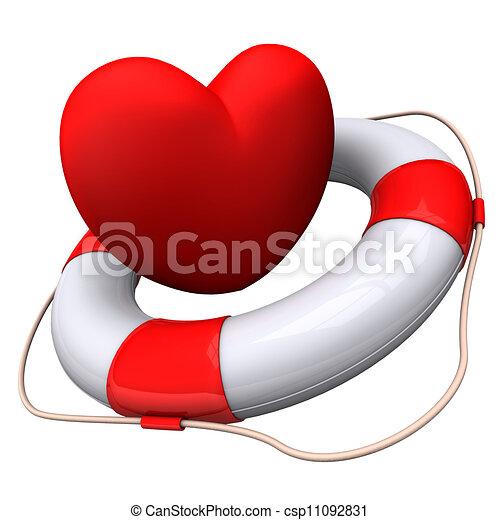 Heart Emergency - csp11092831
