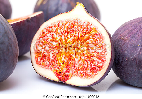 Ripe Fruits Figs - csp11099912