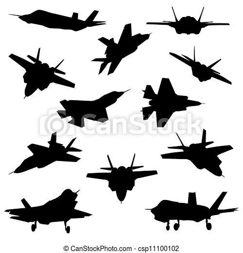 Fighter aircraft Stock Illustration Images. 3,461 Fighter aircraft ...