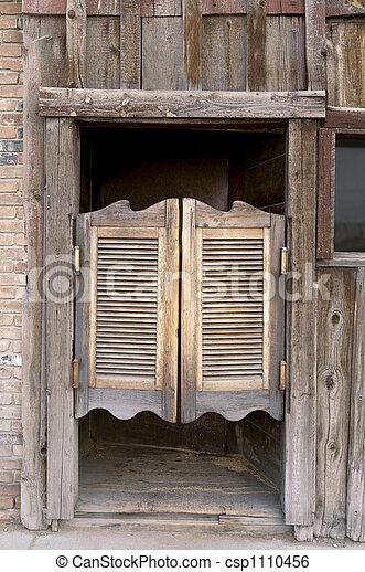 Western Swinging Doors - csp1110456