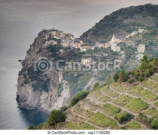 Corniglia village - csp11105282
