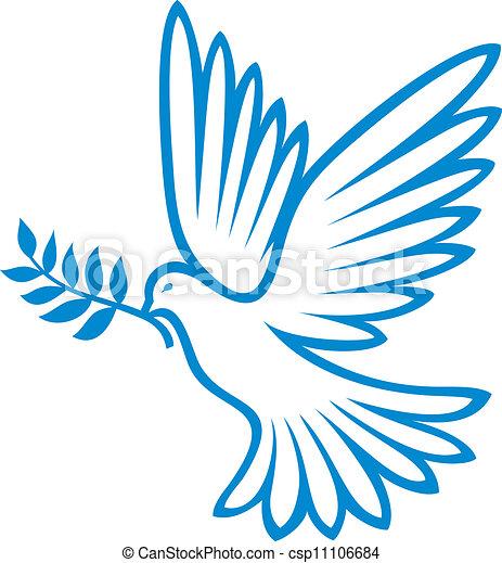 dove of peace (peace dove, symbol of peace)