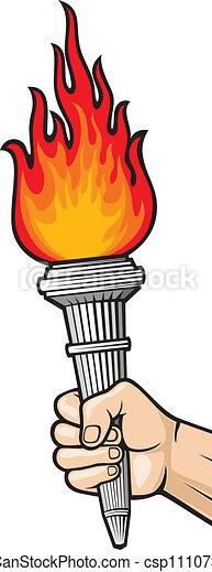 Emergency flare clip art