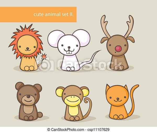 animal set - csp11107629